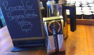 IMAG7049 Panama Coffee tasting just before starting