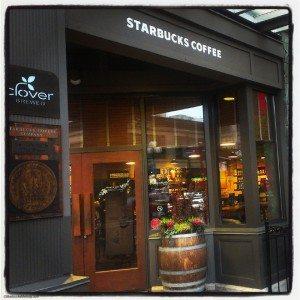 1st and Pke Starbucks exterior
