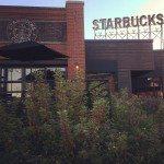 Exterior of Starbucks Olive Way 28 October 2013