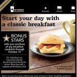 Untitled-2 - 5 bonus stars with breakfast sandwiches