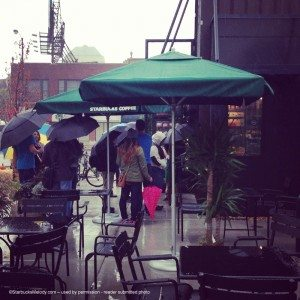 image-10 Umbrellas Rain and Starbucks