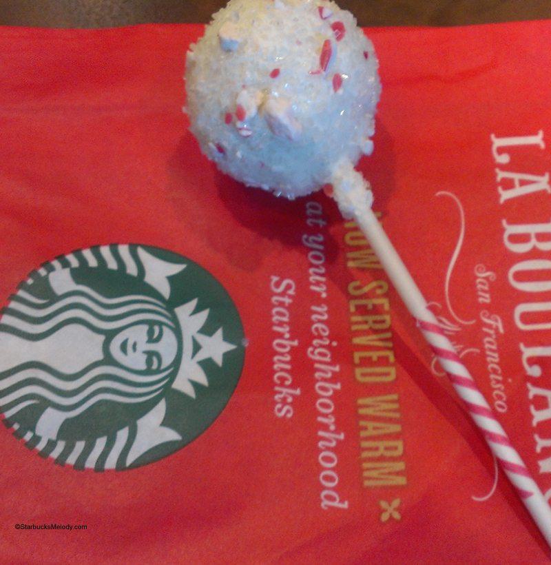 Starbucks Peppermint Cake Pop