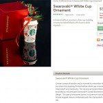 Swarovski ornament image from StarbucksStore.com