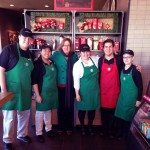 Crew at the Wayside Burlington Starbucks