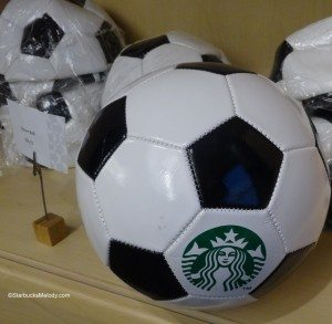 DSC00097 Starbucks soccer ball 20 Dec 2013 Starbucks Coffee Gear Store