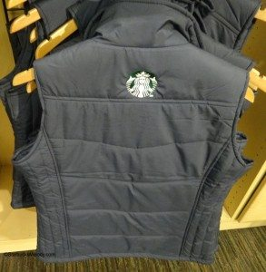 DSC00114 Vest with logo on the back - Starbucks Coffee Gear store