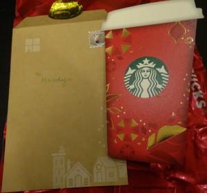 DSC00205 Starbucks Japan Card and Envelop