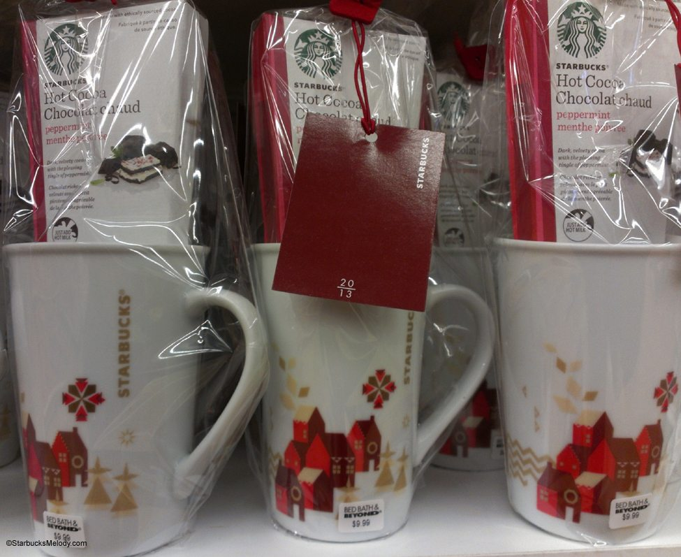 Starbucks holiday gift giving ideas at other retailers