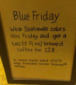 IMAG8809 Blue Friday - Seattle Seahawks Promo
