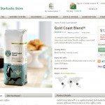 Screen cap on 1 25 2014 - Gold Coast Blend StarbucksStore