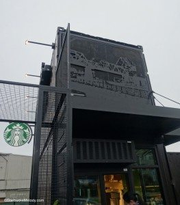 2 - 1 - DSC00639 Ballard shipping container Starbucks above walk up window 1 March 2014