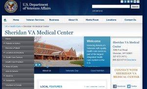 Screen Cap from Sheridan VA website