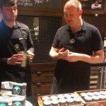 IMAG0168 EOliveWay - Jordan and Topher lead coffee seminar - 21 April 2014