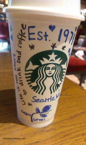 Get Out Your Sharpies! The Starbucks #WhiteCupContest is here.