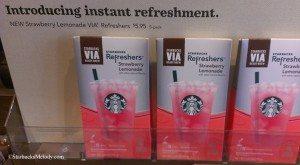 IMAG0351 5th and Columbia Starbucks 29 April 2014 Strawberry Lemonade Via