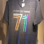 IMAG9818 Starbucks 71 Pride t-shirt