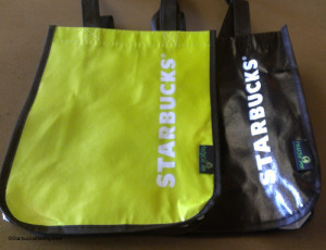 IMAG9828 Small tote bags Starbucks Coffee Gear store 1 April 2014