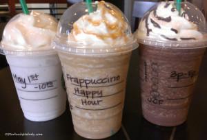 IMAG9987 Frappuccino Happy Hour Frappuccinos