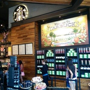 2 - 1 - Sign that says Anaheim welcome to Starbucks 28 May 2014