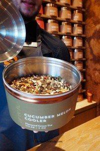 2 - 1 - Cucumber Melon Cooler Loose leaf tea