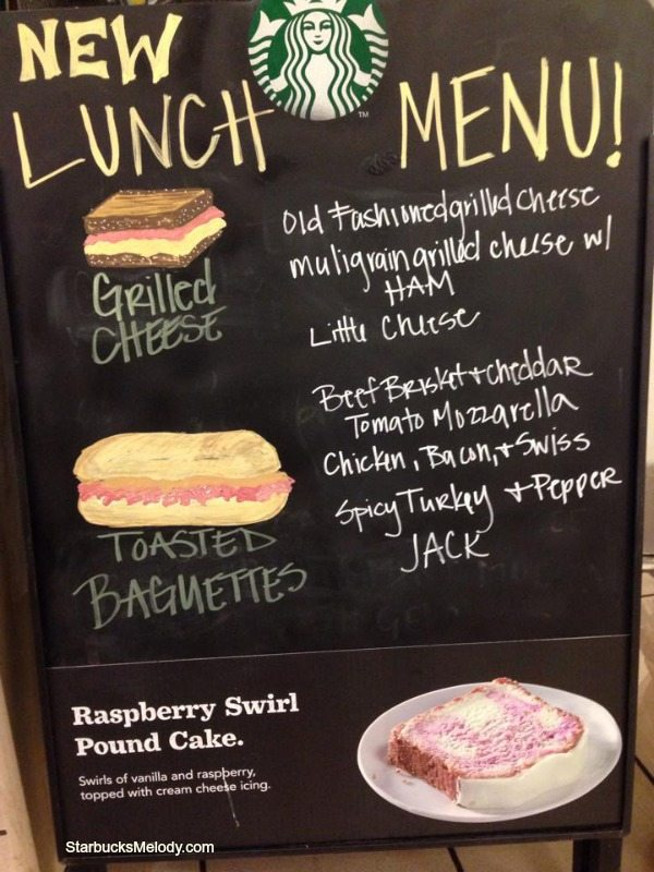 Starbucks Testing New Lunch Sandwiches Grilled Cheese