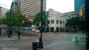 IMAG0561 View out the window of WL Starbucks facing Pine Street - 29Jun14