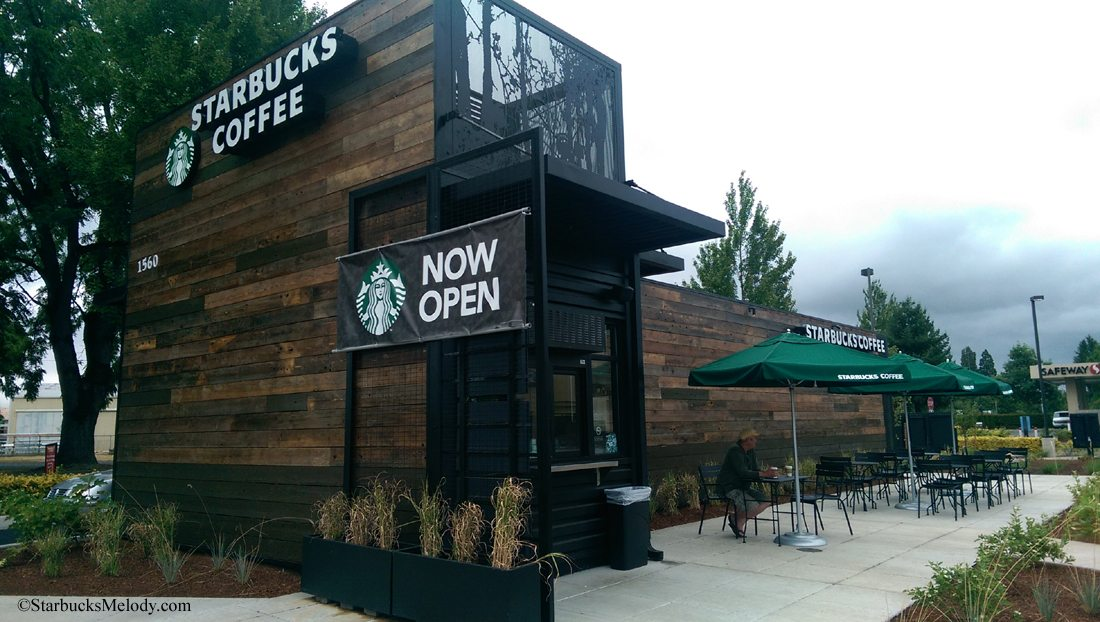 The new Woodburn, Oregon drive thru Starbucks: One of just 19 special stores.