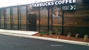 IMAG1109 Starbucks Woodburn OR 20 July 14 Drive thru side with reflective panels