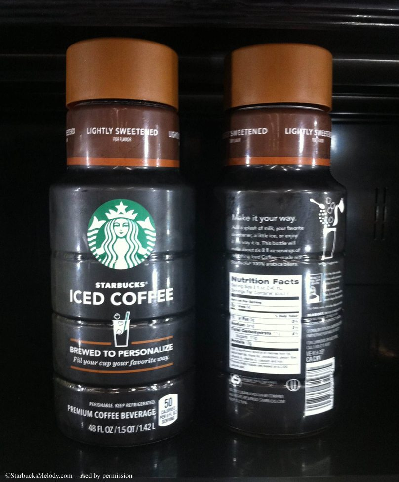 Starbucks Iced Coffee new brewed starbucks iced coffee: now at your local grocery store