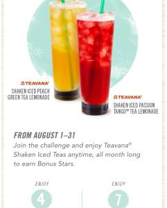 Shake up you tea bonus stars challenge