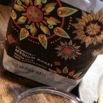 1 - -IMAG2610 India Estate Blend with its whole beans 22 Sept 2014