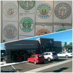 12th and Hawaii Starbucks - Photogrid with colored in Sirens 31 August 2014