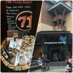 ANAHEIM - California - Downtown Disney Starbucks - Sept 2013