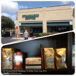 DALLAS - Texas Preston Royal Shopping Center Starbucks August 2014