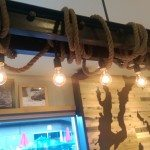 IMAG2196 Lights at Bainbridge Island Starbucks 6 Sept 2014