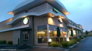 Karcher Mall Starbucks late evening 30 August 2014