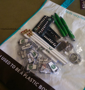 My haul at the Starbucks Coffee Gear Store 29 Aug 2014