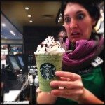 2 - 1 - Brooke with Franken Frappuccino