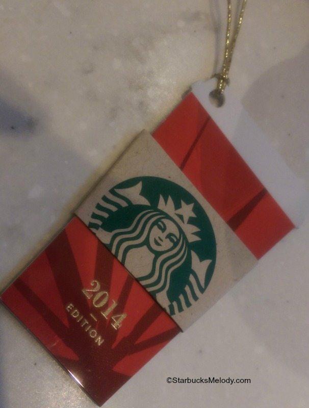 Starbucks Cup Card Card Mini Red Cup Card