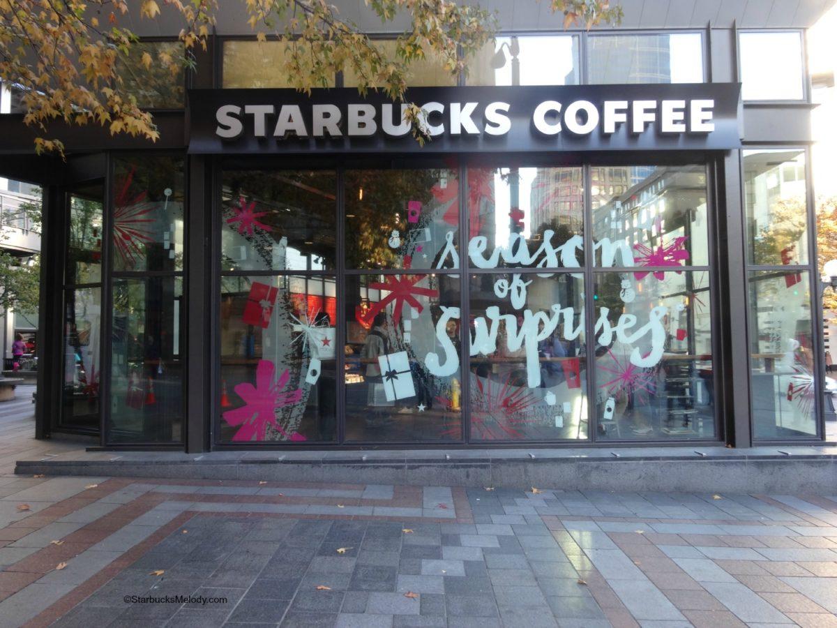 Westlake Starbucks – Holiday 2014 windows!