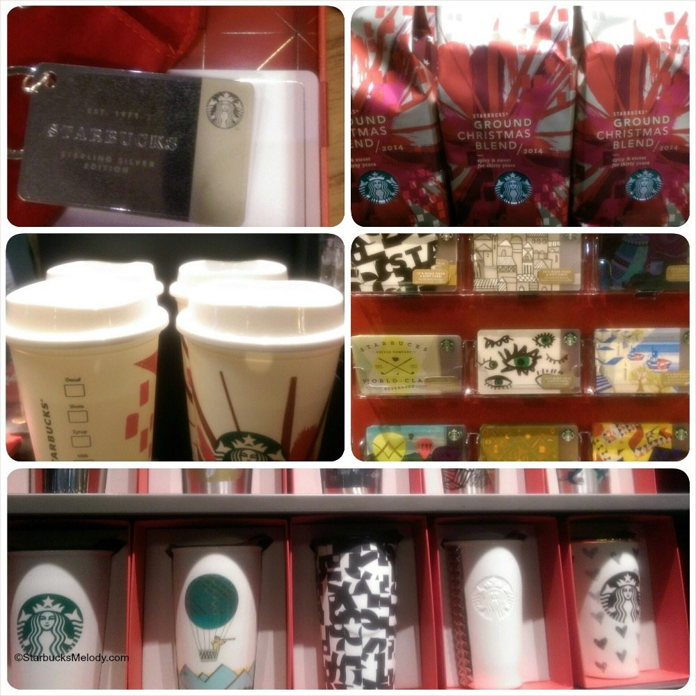 Starbucks Holiday 2014: So many new mugs, tumblers, Starbucks cards, and the Chestnut Praline Latte is officially unveiled.
