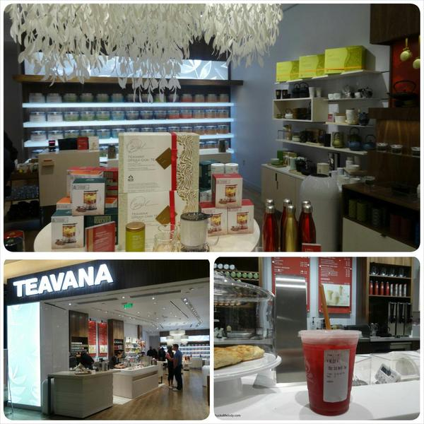 The First of its Kind: New Tea Bar Concept Teavana Store