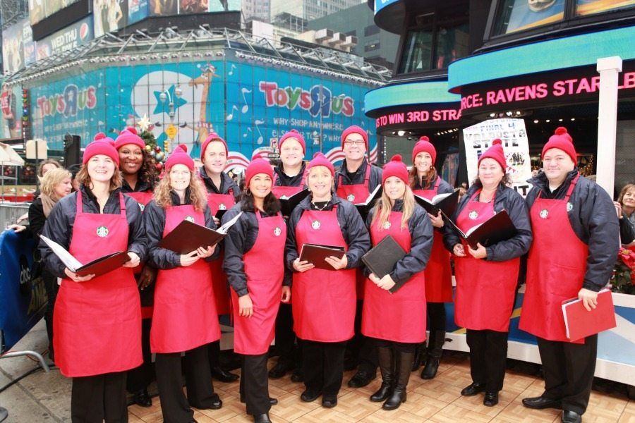 The Starbucks Chorus: Caffeinated Caroling!