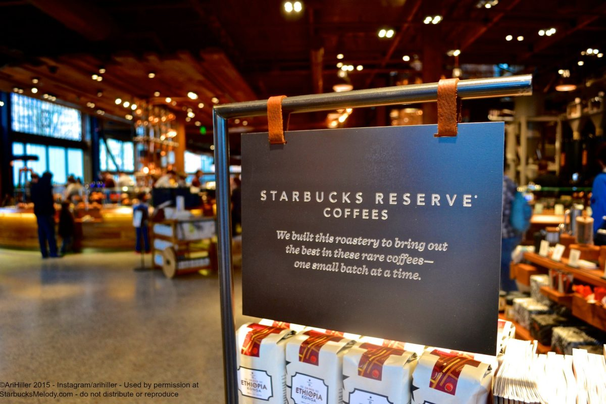 the starbucks reserve roastery and tasting room  photos