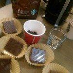 2 - 1 - IMAG4536 Lindt lemon chocolate pairing with Guatemala Antigua