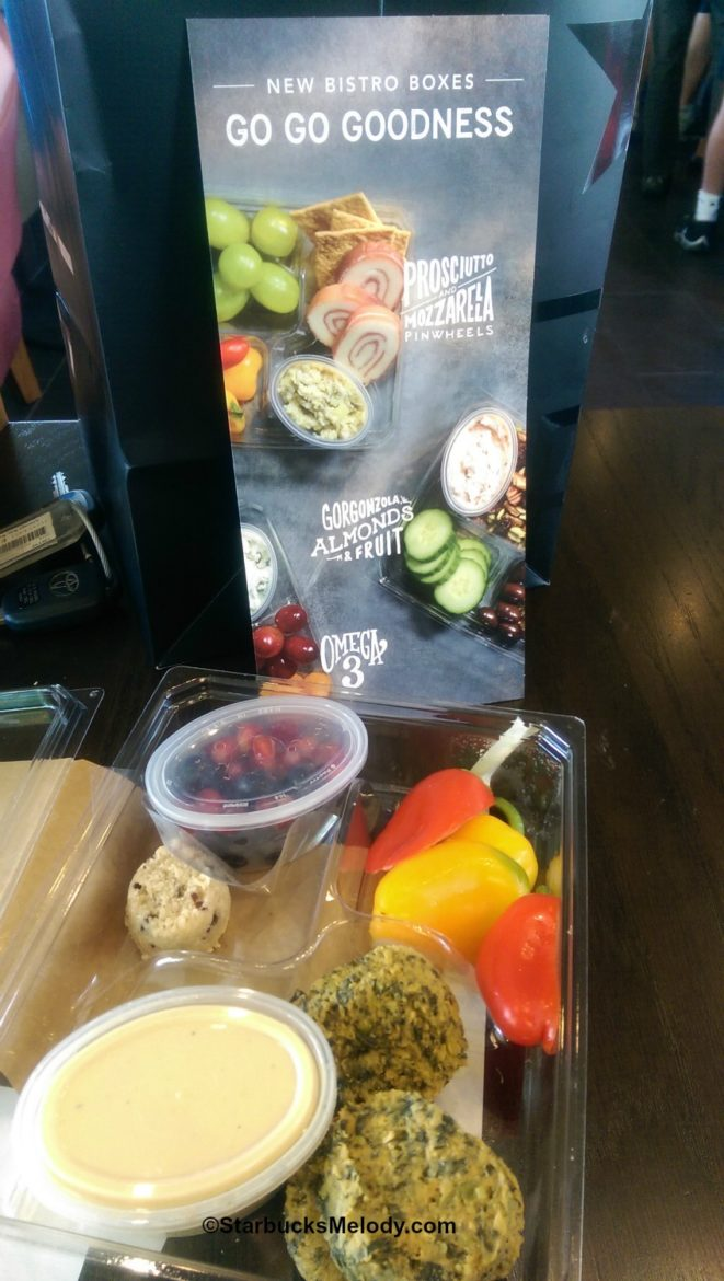 Go go goodness! The big Starbucks lunch & bistro boxes food test.