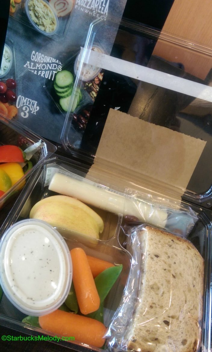 Go Go Goodness The Big Starbucks Lunch Amp Bistro Boxes