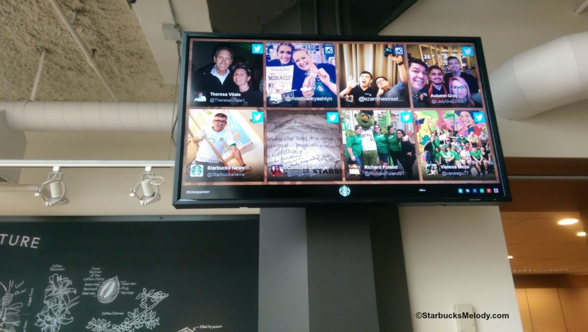 Starbucks Partners: You're on the Big Screen!