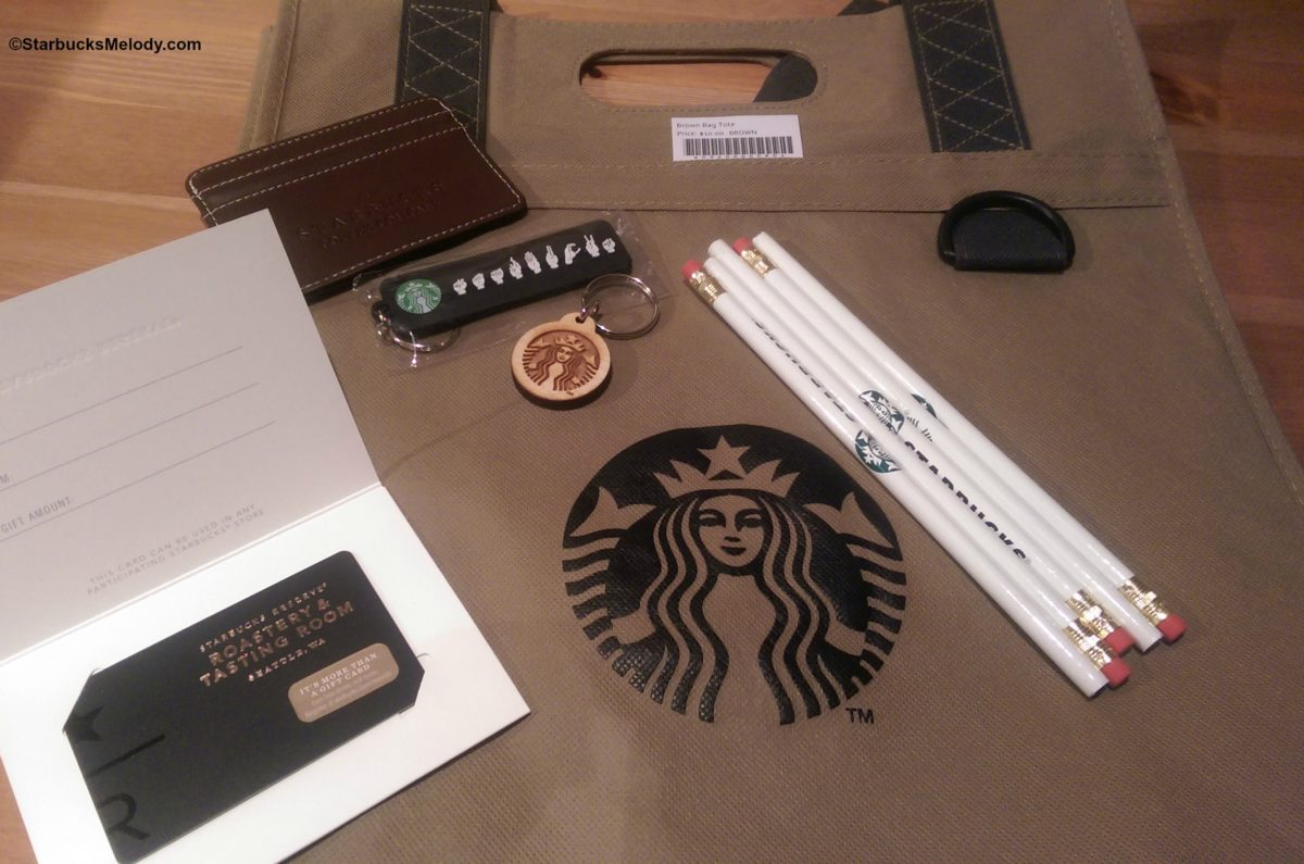 Contest: Starbucks Goodies &  Starbucks Roastery Card Loaded with $50.