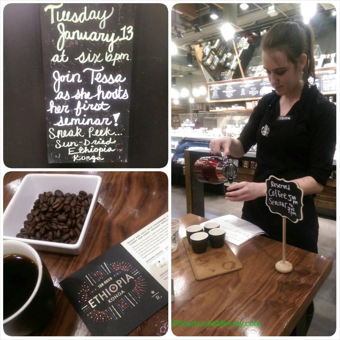 Coffee Masters In Training: The Journey Starts with Starbucks Casi Cielo and Ethiopia Konga
